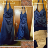 Blue prom dress sz 16 reduced in Fort Riley, Kansas