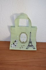 Laduree Purse/Tote with Pug and Eiffel Tower in Ramstein, Germany