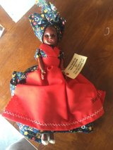 Hand made in New Orleans doll in Camp Lejeune, North Carolina