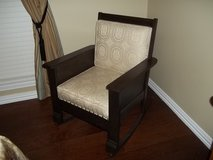Antique Mission style rocker in Houston, Texas