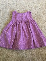 Purple dress in DeKalb, Illinois