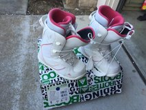 BNIB K2 Womens White/Pink size 6 Snow Board Boots in Fairfield, California