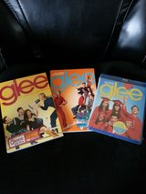 Glee season 1- dvd season 2-dvd, and season 3-blue-ray in Orland Park, Illinois