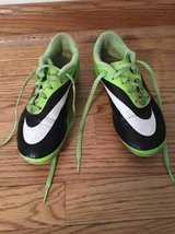"""NIKE SOCCER CLEATS -SIZE 2 NIKE """"HYPER VENOM"""" SOCCER SHOES -BOY OR GIRL in Naperville, Illinois"""