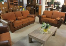 UF - Floor Model Sale - Italian Made Complete Leather Set - Top Quality!!! in Ramstein, Germany