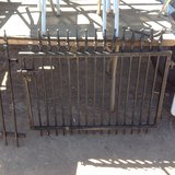 Metal gate in Alamogordo, New Mexico