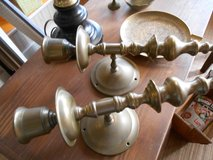 Brass Candle Holders in Cherry Point, North Carolina