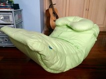 Pottery Barn Teen Bean Bag Rocker Lounge Chair - light green in Naperville, Illinois