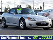 2002 Honda S2000 in Fort Lewis, Washington