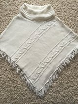 Turtleneck Poncho Sweater-Youth 7/8 in Chicago, Illinois
