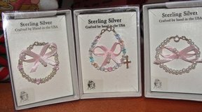Baby Bracelets with Sterling and Pearls in Perry, Georgia