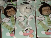 Bearington Baby Collection Pacifier Clips**NEW** Lamb and Bear only in Perry, Georgia