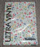 "Brand New ~ Town & Country Linen Ultra Vinyl Flannel Back Floral Tablecloth 70"" Round in Morris, Illinois"