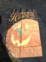 Happy Halloween Flag in Aurora, Illinois