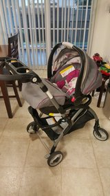 Infant carseat and stroller in San Clemente, California