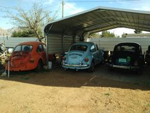 70'71'74 VWs in Alamogordo, New Mexico