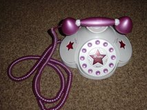 BRATZ Electric Funk Phone Long Purple Cord Works Great Used in Batavia, Illinois