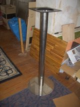 (2) Stainless Steel bottoms for tall table in Jacksonville, Florida
