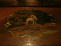 Vintage dovetailed lacquered picture print trinket/jewelry box (unicorn) in Cleveland, Texas