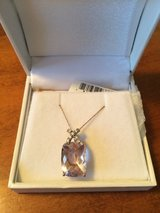 7.61ct Pink Quartz Solitaire Pendant in Camp Lejeune, North Carolina