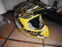 motocross helment rock star in Spangdahlem, Germany