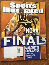 SPORTS ILUSTRATED APRIL 7, 2003 COVER MARQUETTE UNIVERSITY DWYANE WADE in Batavia, Illinois