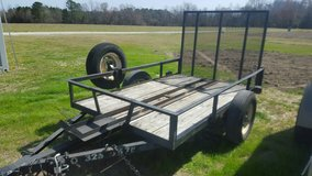 5 X 8 MOTORCYCLE / UTILITY TRAILER FOR RENT AVAILABLE AT 3100 FREEDOM WAY HUBERT in Camp Lejeune, North Carolina