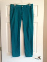 Teal Skinny Jean in Fort Riley, Kansas