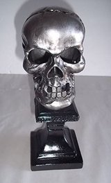 NEW! Halloween Skull LED Tea Light Holder by Celebrate IT! in Bartlett, Illinois