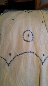 Chenille hand done very old bedspred in Ramstein, Germany