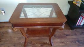 End square table without glass top in Kingwood, Texas