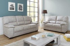 Mona living room set - Sofa + Loveseat (Chair and Footstool also available) monthly payment plans in Grafenwoehr, GE