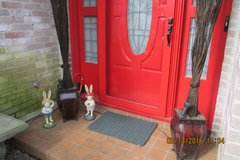 Easter Boy & Girl Front Door Greeters - Very Vintage! in Kingwood, Texas