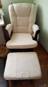 glider chair with foot stool in Kansas City, Missouri