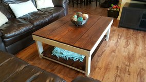 Handmade reclaimed wood coffee table in Fort Benning, Georgia