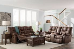 Double reclining sofa and loveseat espresso in Alamogordo, New Mexico