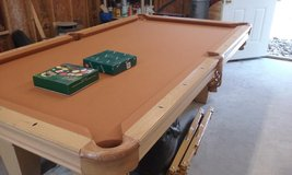 2011 Brunswick Contendor pool table in Warner Robins, Georgia