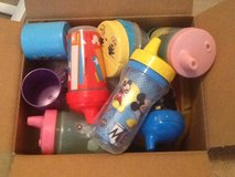 Box of sippy cups in Warner Robins, Georgia