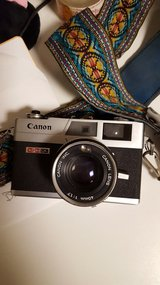 Vintage Canonet in Chicago, Illinois