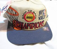NWT 1995 Rockets World Champions Back to Back Hat Baseball Cap in Kingwood, Texas
