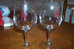 Snowflake Winery Glasses in The Woodlands, Texas