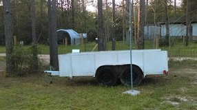 Heavy Duty Metal Trailer Dual Axel for Hauling ATV Mowers - just about anything in Livingston, Texas