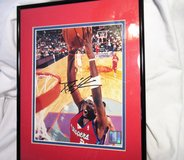 "Framed Darius Miles AUTOGRAPHED Print Photo Clippers COA 11""x14"" in Houston, Texas"