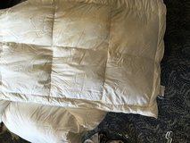 Feather Down Mattress Topper Queen size in Okinawa, Japan