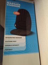 BACK CHARGER AND MASSAGE CUSHION in Vacaville, California