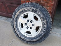 Rim and tire for Chevy Truck in Fort Leonard Wood, Missouri