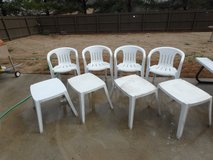 Patio chairs and tables in Huntsville, Alabama
