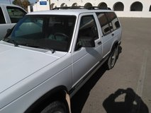 I got a 1994 S10 Blazer V6 4 wheel drive in Alamogordo, New Mexico