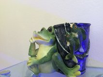 Little Froggy with the Days Catch Vase in Oswego, Illinois