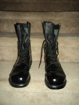 Corcoran Military dress boots in Fort Campbell, Kentucky